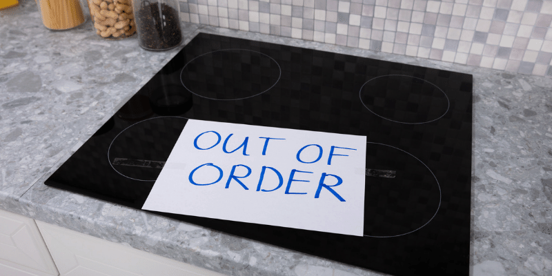 How to repair an induction cooktop