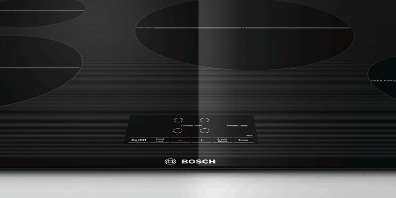 Bosch NIT5066UC 30-inch Induction Cooktop Review - menu and features