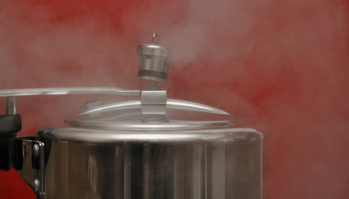 Pressure Cooker Steam Coming Out of Safety Valve - Reasons & Solutions