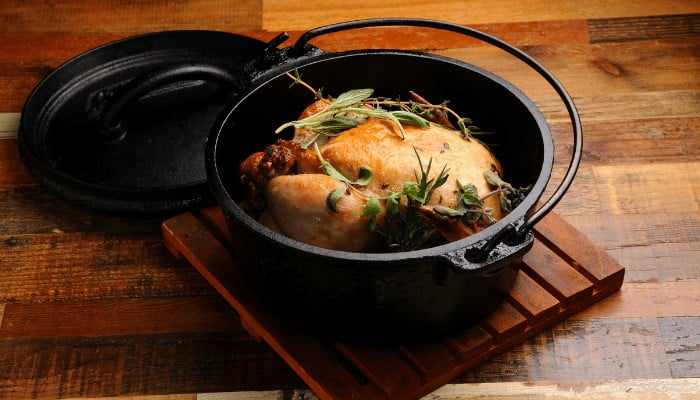 Is it safe to put a Dutch oven in the oven